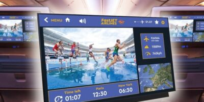 KOE addresses in-flight entertainment with TFT display's quality