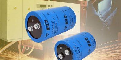 Screw aluminium capacitors pack more energy into storage