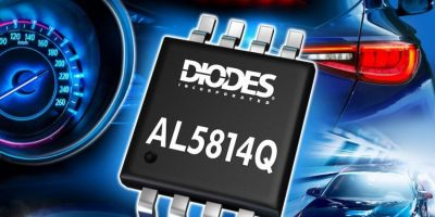 Linear LED driver-controller has low dropout for automotive use
