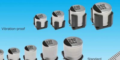 Capacitance reduces the number of capacitors required, says Panasonic