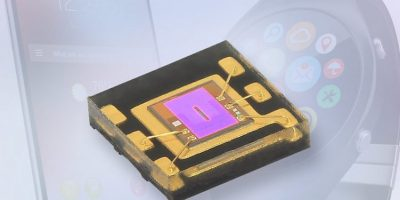 Ambient light sensor is sensitive for wearables and smartphones