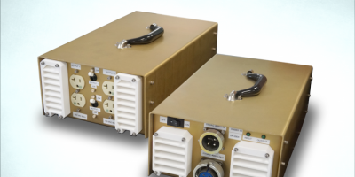 Converter is lightweight and portable for aircraft maintenance