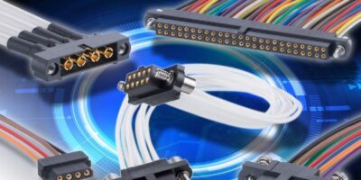 Readymade cable assemblies add convenience to Datamate connectors