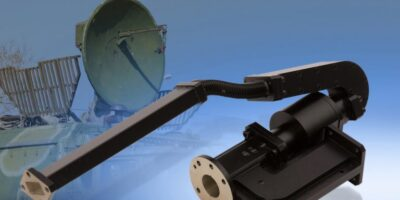 Link Microtek creates microwave feed assembly for satcom antenna