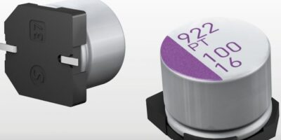 Polymer aluminium capacitors have low ESR characteristics, says PIE