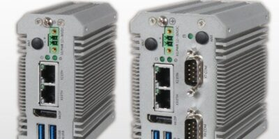 Fanless box PC meets extended EMI and EMS requirements