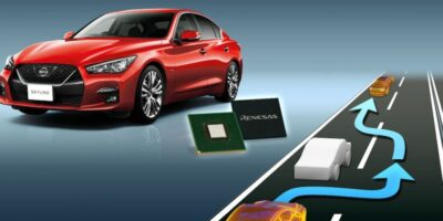 Renesas Electronics automotive chips adopted by Nissan