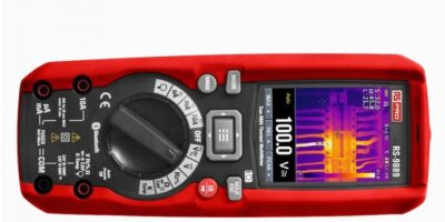 Digital multimeter from RS Components has built-in thermal imaging