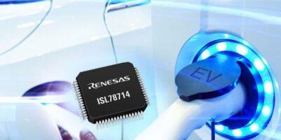 14-cell Li-ion battery management extends EV driving range