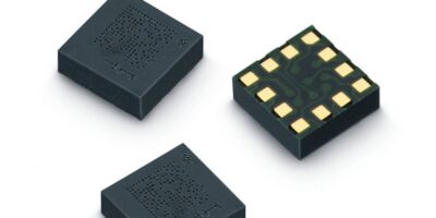 Three-axis acceleration sensor has four measuring ranges