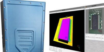 Sensor and software combine to inspect surface mount devices
