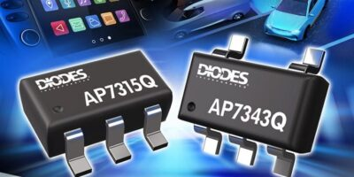 LDOs from Diodes comply with AEC-Q100 grade 1