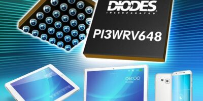 MIPI PHY switch operates across five lanes for mobile applications