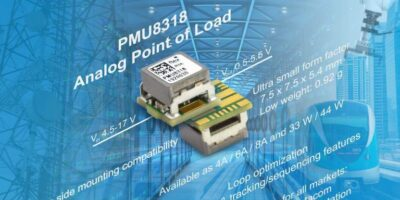Ultra-miniature PoL regulators from 4-8A take on tough conditions