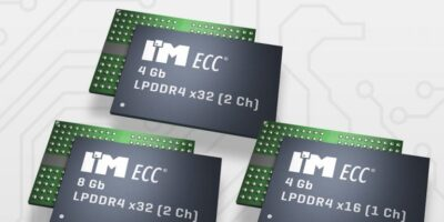 ECC DRAM is available for both LPDDR4 and LPDDR4X technologies