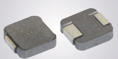 Three automotive-grade IHLP inductors are in smallest 1212 case size