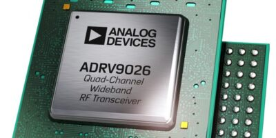 Wideband RF transceiver simplifies basestation design