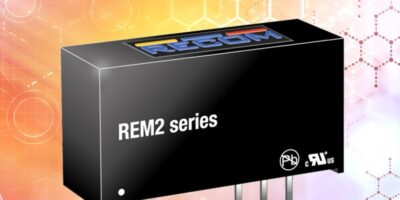 Dengrove saves space with medically-certified 2W DC/DC converters