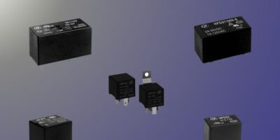 JPR Electronics offers PCB-mounted relays from Hongfa