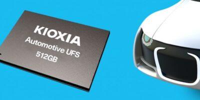 Universal storage flash memory enhances driver experience, says Kioxia
