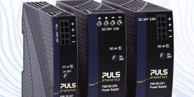 PULS Power creates space with compact DIN-rail mini power supplies
