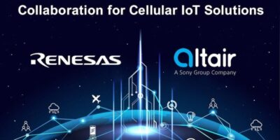 Renesas and Altair bring best-in-class solutions to the cellular IoT market