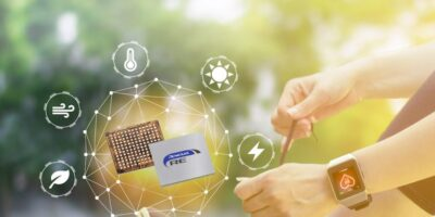 Evaluation kit supports energy harvesting embedded controller