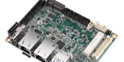 Advantech designs Pico-ITX SBC for secure data access