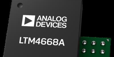 Quad-output DC/DC µModule regulator pair accelerates design time