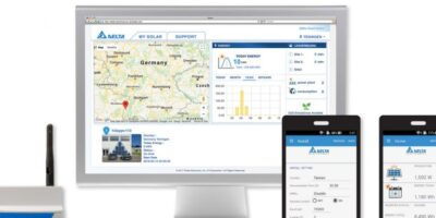 PV inverter is complemented with cloud-based monitoring apps