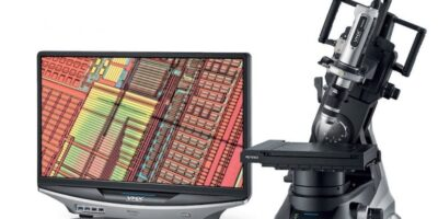 VHX-7000 digital microscope examines semiconductor quality