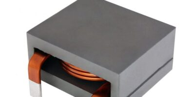 Edge-wound inductor has low profile for industrial and military use