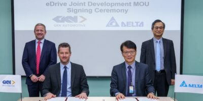 GKN Automotive and Delta Electronics to deliver three-in-one eDrive systems
