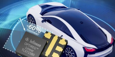 Infineon launches flip-chip regulator for automotive use