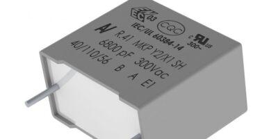 Kemet provides polypropylene film capacitors for EV technology
