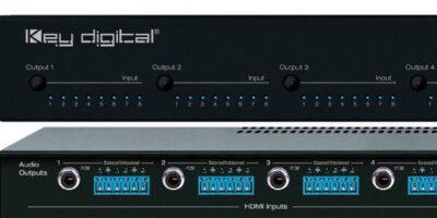 HDMI matrix switcher is app-ready for AV integration, says Key Digital