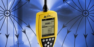 Magnetometer is combined with field meter portable EMF measurements