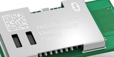 Bluetooth 5.0 Low Energy module has a long-range reach
