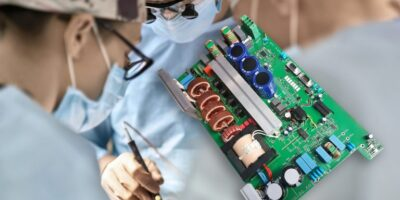 Power supply offers high peak load for medical laser applications