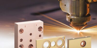 Water-cooled laser diode coolers require smallest surfaces
