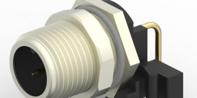 TE Connectivity extends M12 range with right-angle connectors