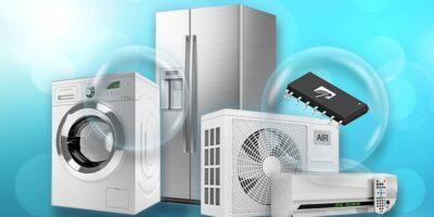 Intelligent MOSFET power modules target domestic fan motors