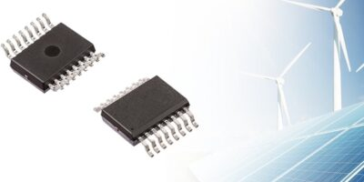 SOIC16W package is custom designed for EV/HEVs and solar applications