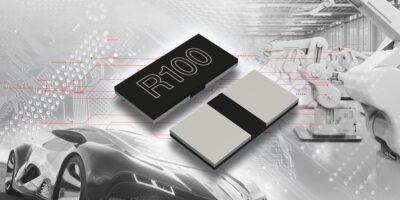 Shunt resistors boast highest rated power for 2020 package