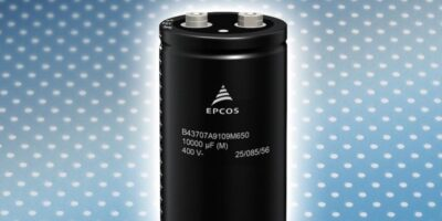 Compact aluminium electrolytic capacitors have high ripple current capability