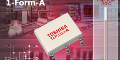 Three high current photo relays replace mechanical devices in harsh environments
