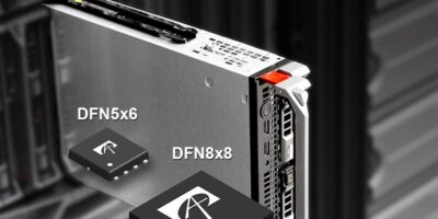 Super junction MOSFETs are in SM packages for high density applications