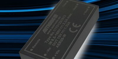 Autronic DC/DC converters for rail are available from Components Bureau