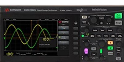 Entry-level two-channel oscilloscope range offers multiple protocols