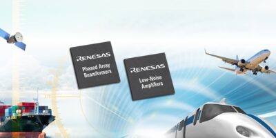 Renesas expands RF beamforming IC options for satellite comms
